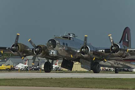 B-17 Flying Fortress at EAA Airventure 2006, Oshkosh, Wisconsin